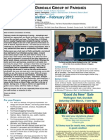 Parish Newsletter - February 2012