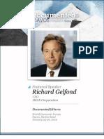 Richard Gelfond is Documented@Davos