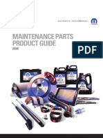 2008 Chrysler Maintenance Parts Product Guide