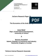 Malik Et Al_economics of the Arab Spring