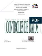 Controles de Datos