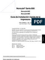 Manual Encad Novajet 850