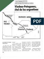 Distrito Viedma - Patagones,  futura capital de los argentinos