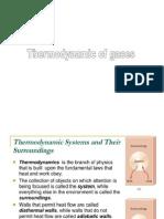 Thermodynamics of Gases1