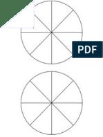 8 partes iguais