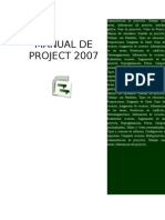 Manual Project 2007