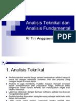 Analisis Teknikal Dan Fundamental