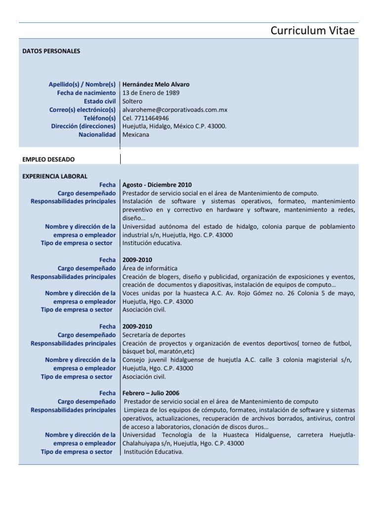 Curriculum Vitae Bal0 - Copia