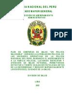 """Plan de Salud """"Un Policía Saludable"""" [2012]-PDF"""