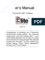 Transcend Elite Users Manual WIN En