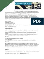 Professional Writing (ENC 3250) Syllabus