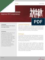 SAP HCM Processes and Forms Case Study