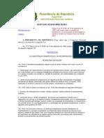 LEI Nº 12.401- 2011 - DISPÕE SOBRE A ASSISTÊNCIA TERAPÊUTICA E A INCOPORAÇÃO TECNOLÓGICA NO SUS