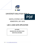 Lab Module 3 - Logic Gate Application