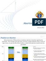Abortion in America 2012