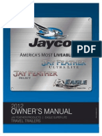2012 Jay Feather Ultra Lite Owners Manual