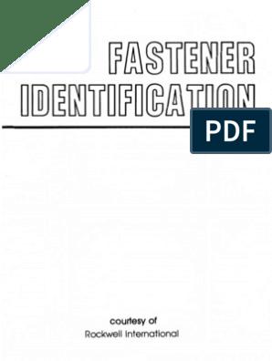 Fastener Identification   Nut (Hardware)   Rivet