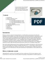 Photonic Crystal - Wikipedia, The Free Encyclopedia