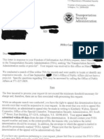 TSA Has No Media Kit Letter