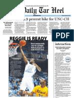 The Daily Tar Heel for January 26, 2012