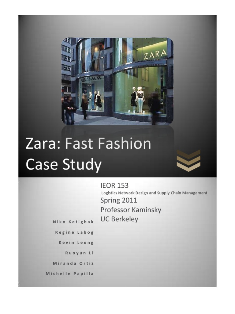 harvard case studies supply chain management Suggested improvements of h&m's supply chain management case study created by paulina a supply chain (1st ed) harvard business review.