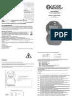 Surtronic Duo Handbook