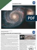 NASA- The Whirlpool Galaxy (M51) and Companion Galaxy
