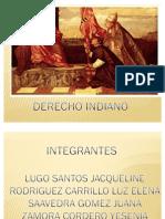 DERECHO INDIANO