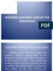 NATIONAL BUILDING CODE OF THE PHILIPPINES