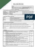 Psihopatologie.doc FISA DISCIPLINA