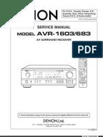 DENON AV-R1603