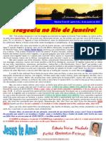 TRAGÉDIA NO RIO DE JANEIRO