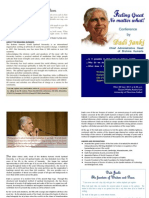 Dadi Janki - Conference on Feeling Great No Matter What