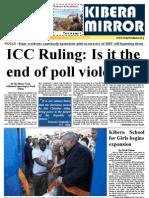kibera mirror January 2012 Edition