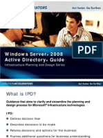 Active Directory Domain Services 2008