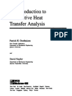 Introduction to Convective Heat Transfer Analysis by Patrick H. Oosthuizen and David Laylor