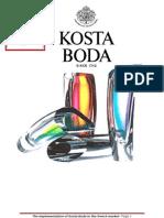 Implementation of Kosta Boda in French Market