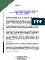 DISCURSO DE LA ALCALDESA EN FITUR