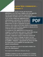 SAF Beginner's Guide FR