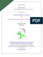 A Seminar Report on Grid Computing