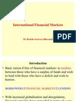 International Financial Markets