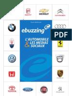 Etude ebuzzing_Reseaux Sociaux Automobile 2012