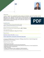 Resume Muhammad Nauman