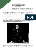 HAMLET 2012 - E se Hamlet fosse uma mulher?