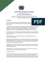Declaracio Universal Dels Drets Humans