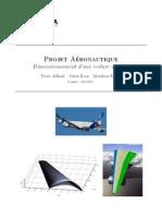 Dimensionnement Voilure A340 4A