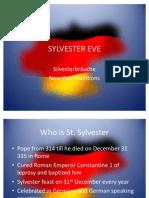 Sylvester Eve