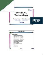 Voice XML