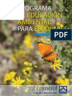 Programa de Educación Ambiental para escolares 2011-2012