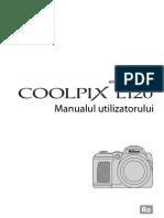 Manual de Utilizare Nikon L120